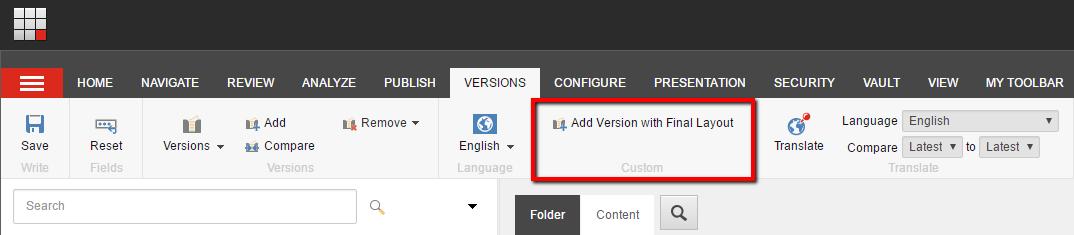 AddItemVersionWithFinalLayout_Button_ContentEditor