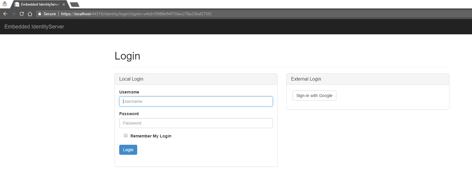 Identity_Server_Login_Page