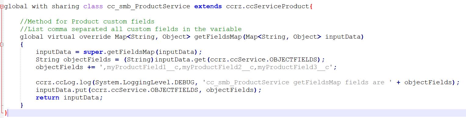 CodeHeaderObject