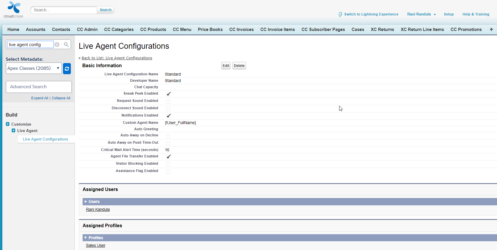 Implementing Live Agent on Salesforce B2B Commerce in 7 Easy Step - Step Four
