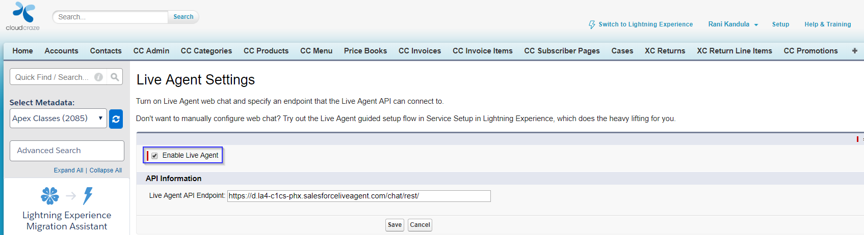 Implementing Live Agent on Salesforce B2B Commerce in 7 Easy Steps - Step One