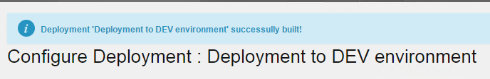 VaultDeployment_BuildSuccessful