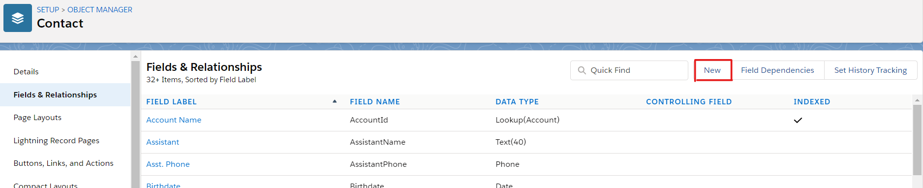 Salesforce Object Manager