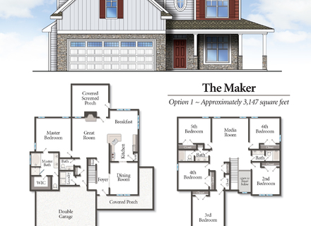 A home builder that allows customweers to design their homes online before ordering.