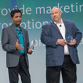 Amrit Raj, XCentium, and Charlie Jones, Dine Brands Global, talk about how technology helped achieve the vision for Applebee's and IHOP.
