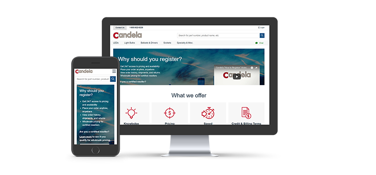 Candela Corporation's new B2B Digital Solution