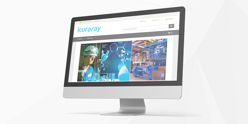 Kuraray America establishes B2B eCommerce presence with Insite Software.