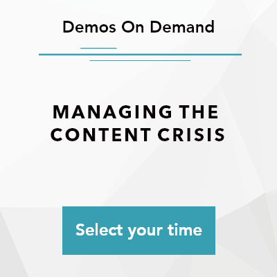 XCentium: Book a time to learn to manage the content crisis at Sitecore Symposium