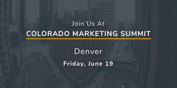 Meet XCentium at the Colorado Marketing Summit in June 2019.