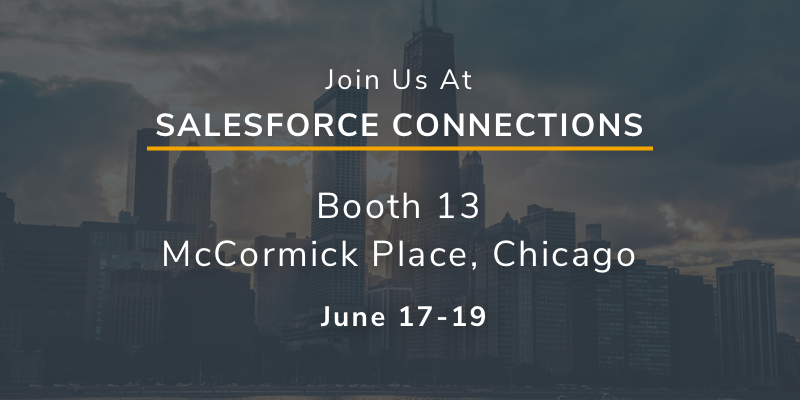 Join XCentium at Salesforce Connections