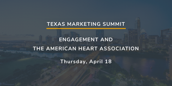 Join XCentium and the American Heart Association at the Texas Marketing Summit 2019.